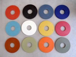 Grundglasurfarben-